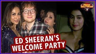 Malaika, Mouni, Rajkummar & Others Attend Farah's Ed Sheeran Welcome Party | Bollywood News