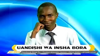 DAWATI LA LUGHA  -Vipengee Muhimu katika Uandishi wa Insha