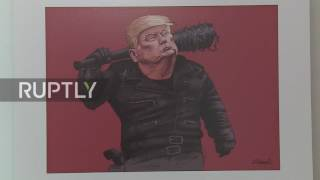 Iran: Hundreds of artists mock Trump in Tehran cartoon competition