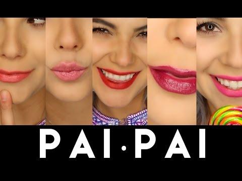 Pai·Pai ☞ Reseña y Swatches Labiales hechos en México con Amor ♥︎