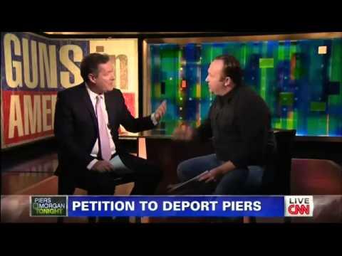 Xxx Mp4 Alex Jones Vs Piers Morgan On Gun Control CNN 1 7 2013 3gp Sex