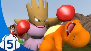 Charmander Gets Punched in the Face - Starter Squad (Ep.5)