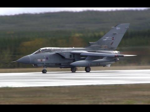 Royal Air Force - Panavia Tornado GR4 + Airbus A330 Voyager KC3 Takeoff