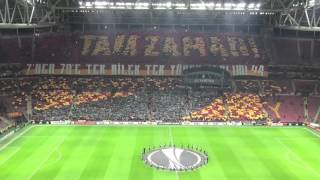 ultrAslan Muhteşem Koreografi HD | Galatasaray - Lazio