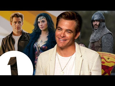 """""""I wasn't that surprised!"""" Chris Pine on returning for Wonder Woman 2 & revealing all in Outlaw King"""