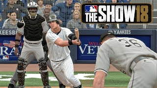 MLB 18 RTTS Joe Broadway Road To The Show (Episode 8) vs Chicago White Sox MLB 18 Road to the Show