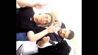 فيفو و رولا سعد - تصوير مسلسل مجنون فيكي