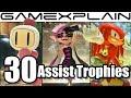 Super Smash Bros. Ultimate - 30 New & Returning Assist Trophies We