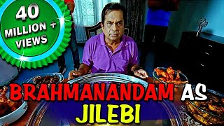 Brahmanandam as Jilebi | Double Attack (Naayak) Hindi Dubbed Best Comedy Scenes | Ram Charan