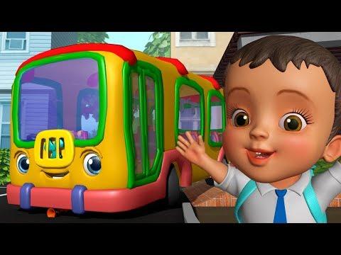 School Bus Song स्कूल बस गीत Hindi Rhymes for Children Infobells
