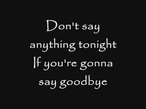 Skillet - Say Goodbye (Lyrics)