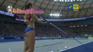 Mondiali Atletica Berlino 2009: Yelena Isinbayeva clamoroso flop nella finale del salto con l'asta