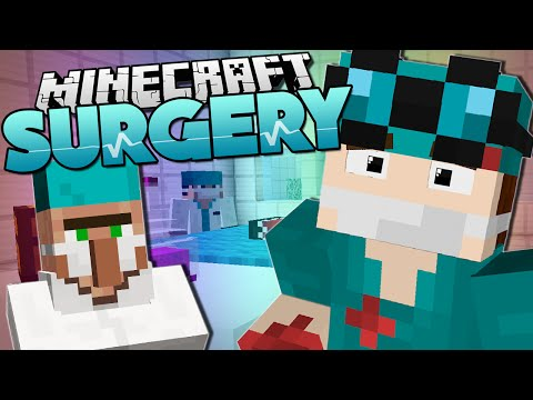 Minecraft Surgery OPERATION FOR SANTA Custom Mod Adventure