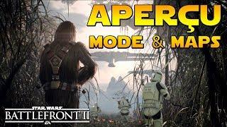 APERÇU NOUVEAU MODE (Conquête!?) & MAPS (Images BTS) | Star Wars Battlefront II