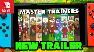 New Pokemon Switch Trailer!, Master Trainers & Challanges Shown for Pokémon Let