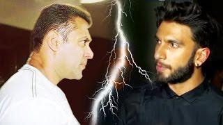 Angry Ranveer Singh Ingnored Salman Khan