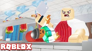ESCAPE THE EVIL MEAT SHOP IN ROBLOX