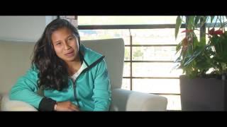 Leicy Santos, figura de Santa Fe femenino, entrevista en Win Sports