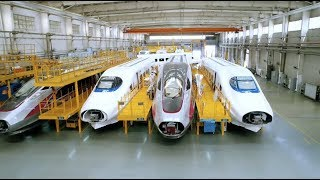 Amazing China: China's High-speed Trains Become New Engine of Economic Growth