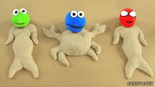 Childrens Sandbox Stop Motion Play Doh Playtime Baby Toys Pretend Play Family Fun For Kids Videos