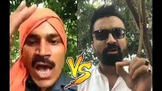 Ajaz Khan Vs Pramod Dubey Fight Video Must Watch