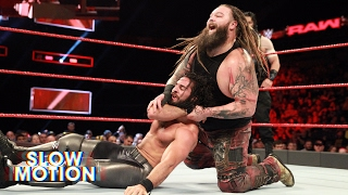 Watch Raw's hard-hitting main event in slow-motion: Exclusive, May 23, 2017