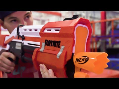 Nerf Fortnite Blasters Battle Dude Perfect
