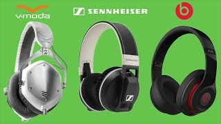 Sennheiser Urbanite XL vs Beats Studio vs V-Moda Crossfade M100 Review Comparison