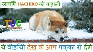 Hachiko The Akita Dog story In hindi | Popular Dogs Stories | The Ultimate Channel