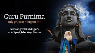 Guru Purnima with Sadhguru (2017) - Live