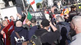 had enough of watching muslims burn our flag the english fight back london 6 10 12 01