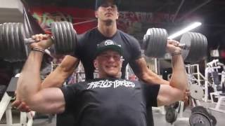 Intense Shoulder Workout | Iron Addicts Gym | The Lost Breed