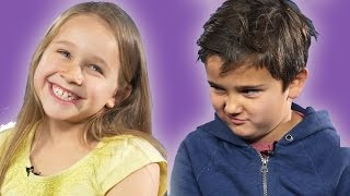 Kids Confess Their Feelings About Their Crush