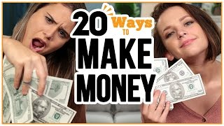 20 Ways to MAKE MONEY - w/ Alexis G. Zall and Ayydubs