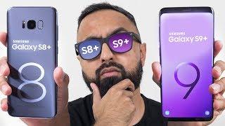 Samsung Galaxy S9 Plus vs S8 Plus