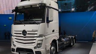 Mercedes-Benz Actros 2542 L 2017 In detail review walkaround Interior Exterior