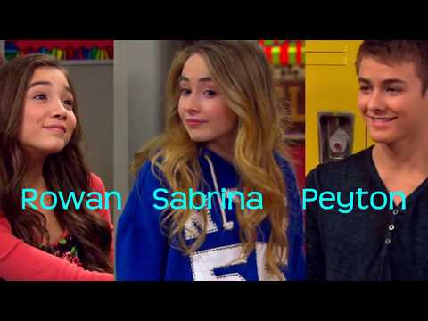 Peyton Meyer and Rowan Blanchard VS Peyton Meyer and Sabrina Carpenter