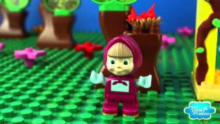 ♥ Masha and the Bear Compilation 2015 Маша и Медведь (The Golden Fish, Garden of Ice Cream Part 8 HD