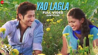 Yaad Lagla with Subtitles - Sairat | Full Video | Nagraj Manjule | Ajay - Atul