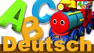 ABC-Zug Lied | Kinderlieder | LittleBabyBum