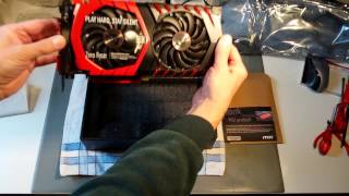 Unboxing: MSI GeForce GTX 1080 Gaming X+ G8 11Gbps