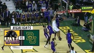 Prairie View vs. Baylor Basketball Highlights (2018-19) | Stadium