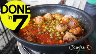 Resep Sweet & Sour Meatballs - Done in 7
