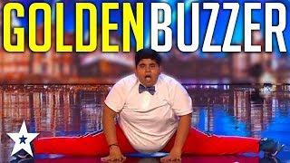 INSPIRING Kid Dance Audition Gets GOLDEN BUZZER On Britain's Got Talent   Got Talent Global