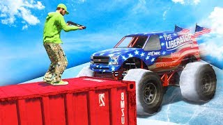 99.9% IMPOSSIBLE SNOW AVALANCHE! (GTA 5 Funny Moments)
