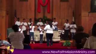 NFMM Youth Sunday P1  Youth Choir 7 27 14