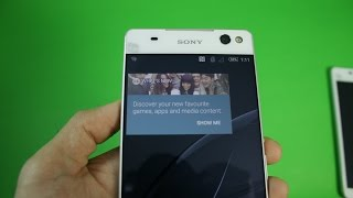 Sony Xperia C5 Ultra Unboxing, Hands-on, Size Comparison vs Xperia C4
