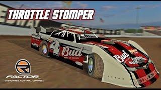 rFactor: Throttle Stomper (Super Late Model @ Lucas Oil Raceway)
