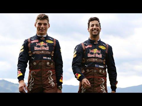 Daniel Ricciardo and Max Verstappen - funny moments