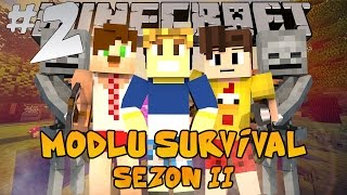 Minecraft Modlu Survival Sezon 2 - Neptünlü Naci - Bölüm 2